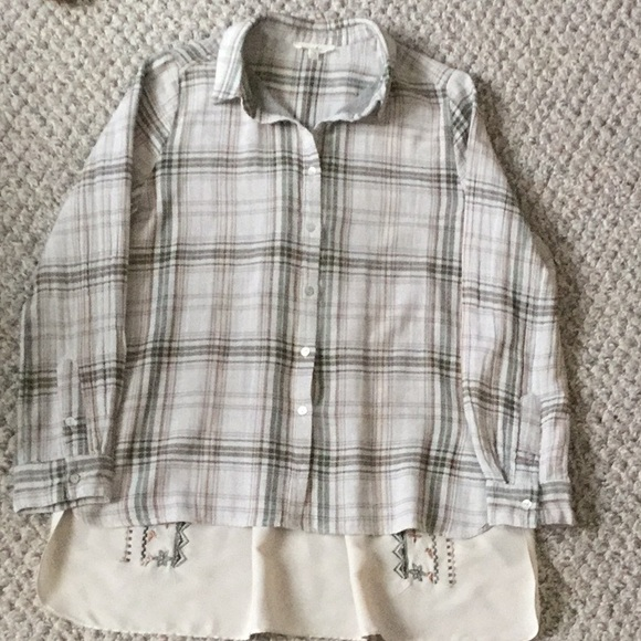 lou & Delancey Tops - Lou & Delaney blouse top sz XS